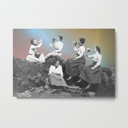 Drunk enough? Metal Print
