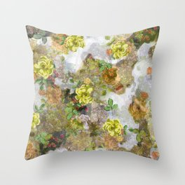 In to the woods Throw Pillow