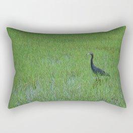 Bird in a Field Rectangular Pillow