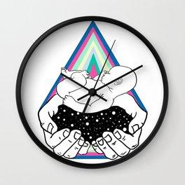 Cosmic waters Wall Clock
