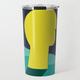 Be in deep water Travel Mug