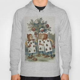 Alice in Wonderland - Painting the roses Hoody