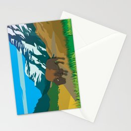 Land Of The American Natives No. 2 Stationery Cards
