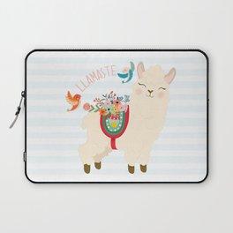 Llamaste - When A Llama Offers You A Respectful Greeting Laptop Sleeve