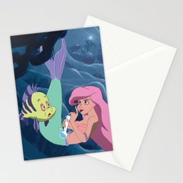 Ariel's Stoney Grotto Stationery Cards