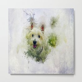 West Highland White Terrier Metal Print