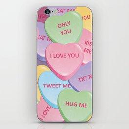 Valentine's candies iPhone Skin