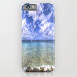 Caribbean Summer Day iPhone Case