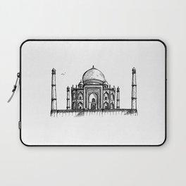 Taj Mahal Hand Drawing Laptop Sleeve