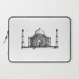 Taj Mahal Hand Drawing Laptop Sleeve