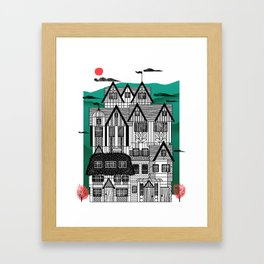 Tudor Revival Framed Art Print