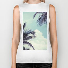 Welcome to Miami Palm Trees Biker Tank
