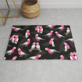 Galah bird pattern Rug