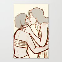 korrasami Canvas Prints featuring korrasami by JASE