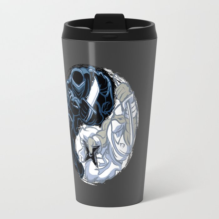 Snake Eyes/Storm Shadow  Travel Mug