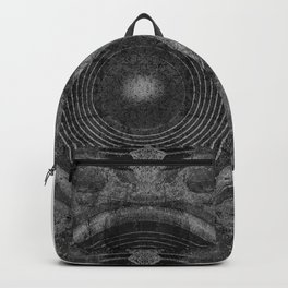 Black and white music speakers Backpack