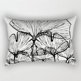 Gingko Leaves Rectangular Pillow