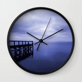 Serenity on the Lake Wall Clock