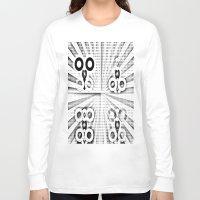 matrix Long Sleeve T-shirts featuring Matrix  by Amanda Chapdelaine