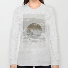 Snowing Forest Long Sleeve T-shirt