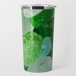 Ocean Photography Beach Sea Glass Travel Mug