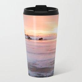 Sunrise at the Pond Travel Mug