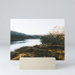Rainbow Lake Sunrise III Mini Art Print