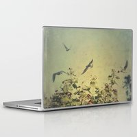 freedom Laptop & iPad Skins featuring Freedom by Victoria Herrera