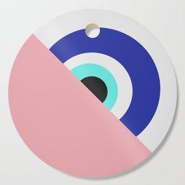 Devil eye pink hide Cutting Board