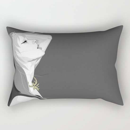 breath Rectangular Pillow