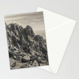 Rocky landscape Stationery Cards
