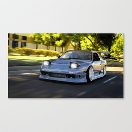 Bump & Grind Canvas Print