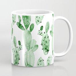 Green Cactus Field - Large Coffee Mug