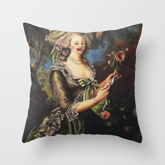 Wanna Do Bad Things Throw Pillow