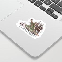 Ellie's birthday - The Last of Us Part II - Fan art Sticker