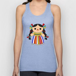 Maria 2 (Mexican Doll) Unisex Tank Top
