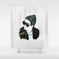 shinee Shower Curtains featuring Only One. by GIZIBE