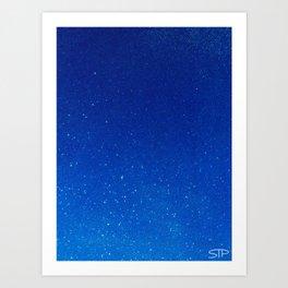 Drops of Space Art Print