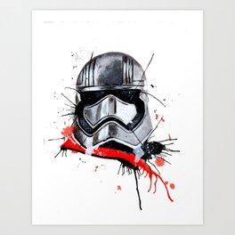 Phasma Art Print