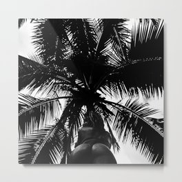 Palm with Sass  Metal Print