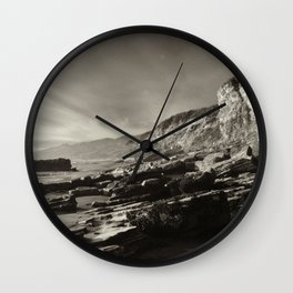 Slant Wall Clock