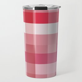 Pixelate Rose Travel Mug
