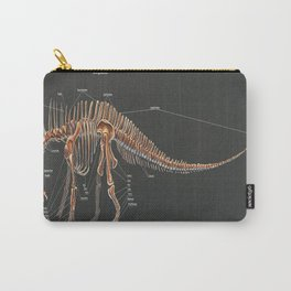 Amargasaurus Skeletal Study Carry-All Pouch