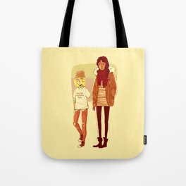 Ymir and Historia Tote Bag