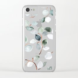 Eucalyptus Clear iPhone Case