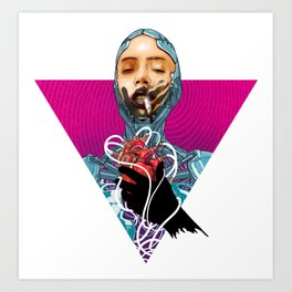 Roboheart  Art Print