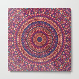 Mandala 166 Metal Print