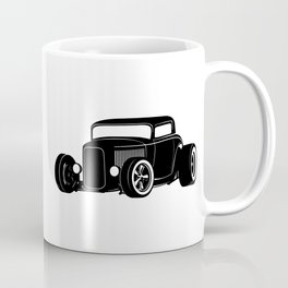 Vintage American Hot Rod Coffee Mug