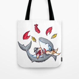 Lobstah Dinnah Tote Bag