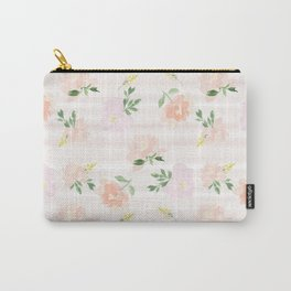 Gigi Collection - Peach Peony Carry-All Pouch